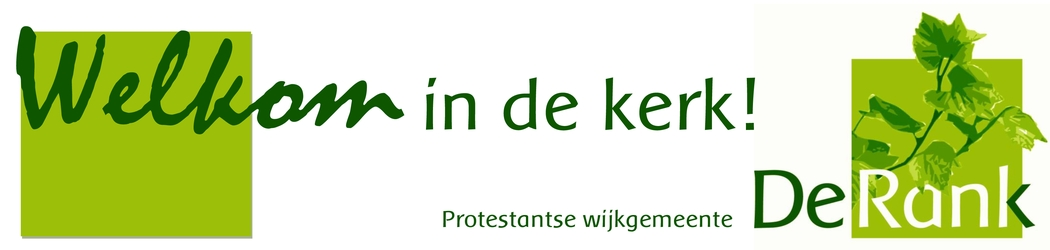 Banner Welkom in De Rank
